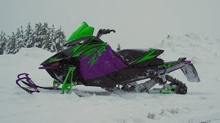 Too Much Purple!? 2019 Mountain Cat Arctic Cat FIRST START