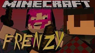 Minecraft Minigame - FRENZY! Ft. MunchingBrotato, Dartron, and Lilshortysgs