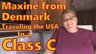 Maxine Exploring the USA in a Class C
