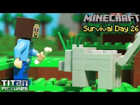 Lego Minecraft Survival 26