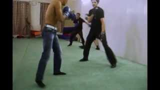 Wing Chun vs Boxing  ( without kicking )