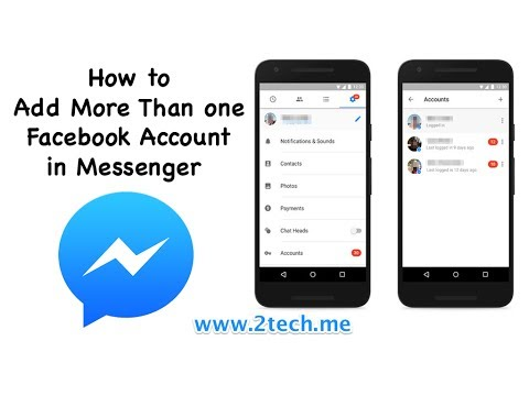 How to Add or Switch or Remove Accounts in Facebook Messenger