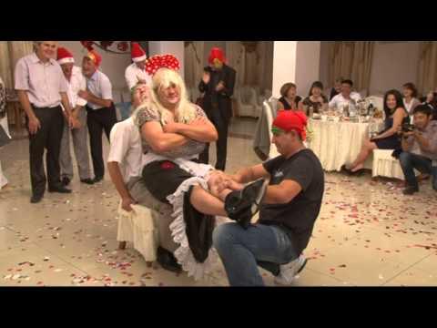 Смешные сценки на свадьбу с гостями