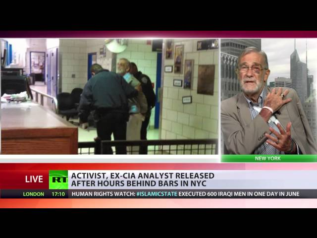 'Dangerous precedent' - Ray McGovern on excessive police force