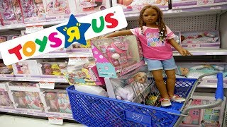 Silicone Baby Big Sister Toy Hunt in Toys R Us! A Huge Toy Store!
