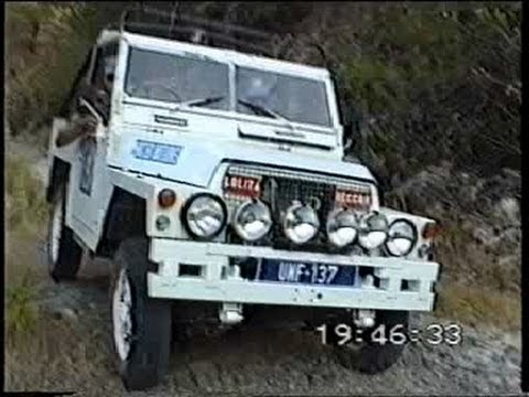Land Rover 88 on Mountain Patrol and Gardening Cyprus
