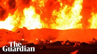 Scores killed in Mexico pipeline explosion