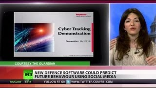 Big brother not only watching_ New spy software can 'predict future'