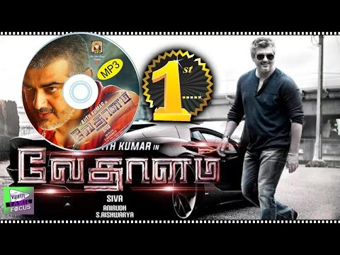 Ajith Vedhalam Music Stood No.1 in South Indian Movie Industry - Tamil Focus