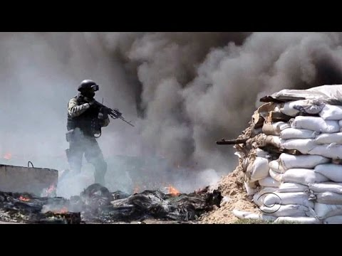 Violence spirals in east Ukraine