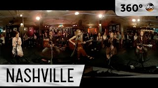 "Lennon and Maisy Stella Sing ""A Life That's Good"" - Nashville (360 Video)"