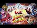Street Fighter vs Power Ranger!? O Crossover mais ABSURDO!