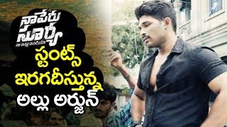 allu arjun naa peru surya movie ACTION Stunts | naa peru surya movie Scenes | Filmylooks