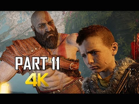 GOD OF WAR Gameplay Walkthrough Part 11 - Voices (PS4 PRO 4K Commentary 2018) thumbnail
