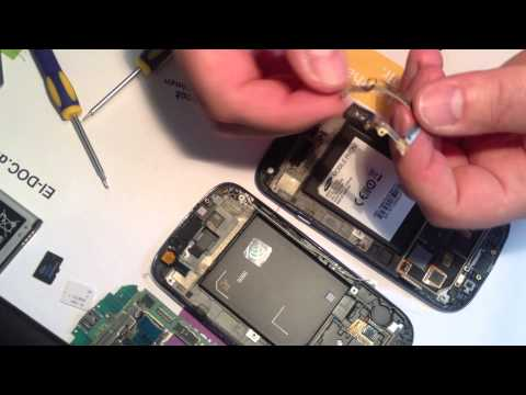 SAMSUNG GALAXY S3 I9300 Handy LCD Display Umbau Anleitung Wechsel Repair Disassembly & Assembly