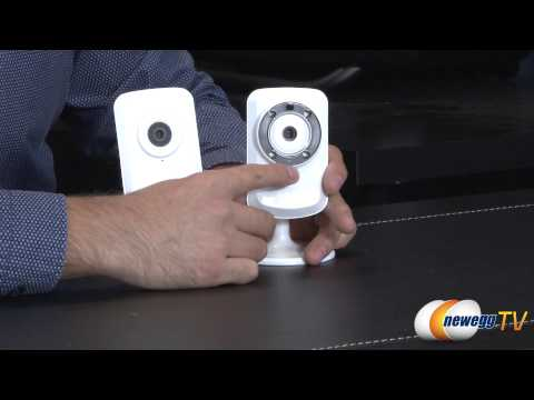 D-Link 1050 and 1150 Wireless Cloud Cameras Overview - Newegg TV