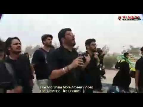 Mir Hasan Mir Walk Karbala To Najaf Safar E Ishq More Arbaeen Video 1440 Subscribe This Channel