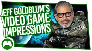 Jeff Goldblum's Amazing Videogame Impressions | Jurassic World Evolution Interview