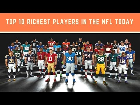Top 10 Big Name Stars Are the Richest Players in the NFL Today | highest paid nfl player