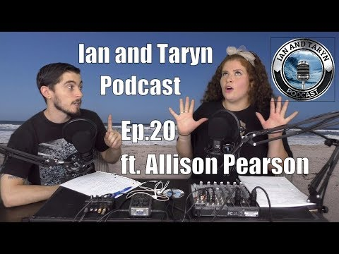 Ian and Taryn Podcast - Ep.20 - ft. Allison Pearson (Rap talk, news, cbd, and more!)