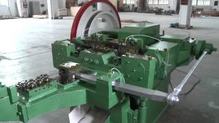 Nail making machine factory,thread rolling machine manufacturers from china