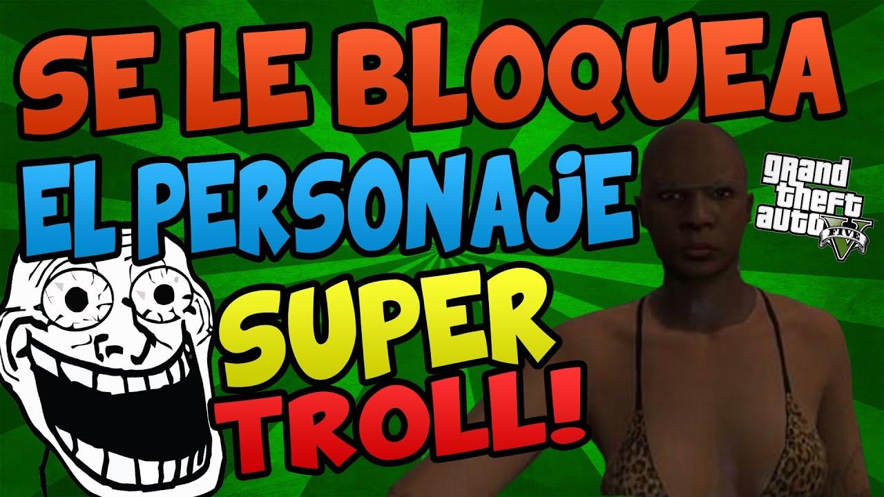 Super troll se le bloquea el personaje de gta v for Cuarto personaje gta 5