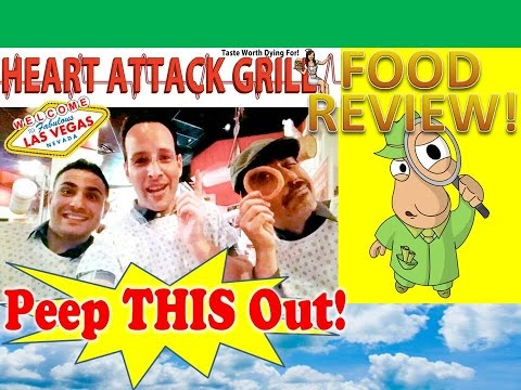 Heart Attack Grill® Las Vegas Review! Peep THIS Out!