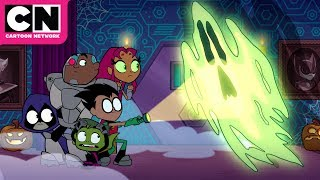 Teen Titans GO! | Halloween at the Hive | Cartoon Network