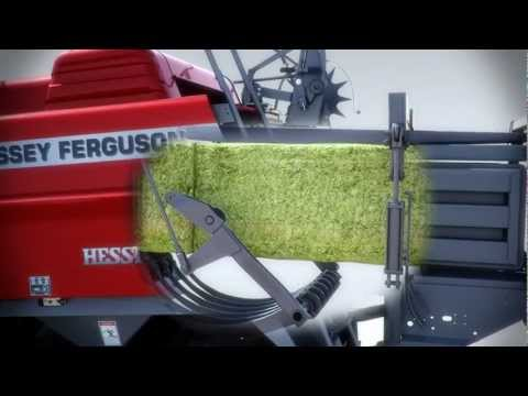 Hesston by Massey Ferguson 2100 Series Large Square Baler Animation