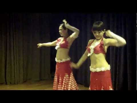 Chinghan Chiang And 李力力 Dancing Ya Habibi Yalla Crazy Raqs Belly Dance Show video