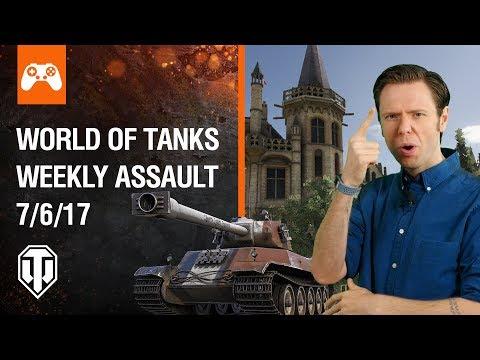 World of Tanks Weekly Assault #11
