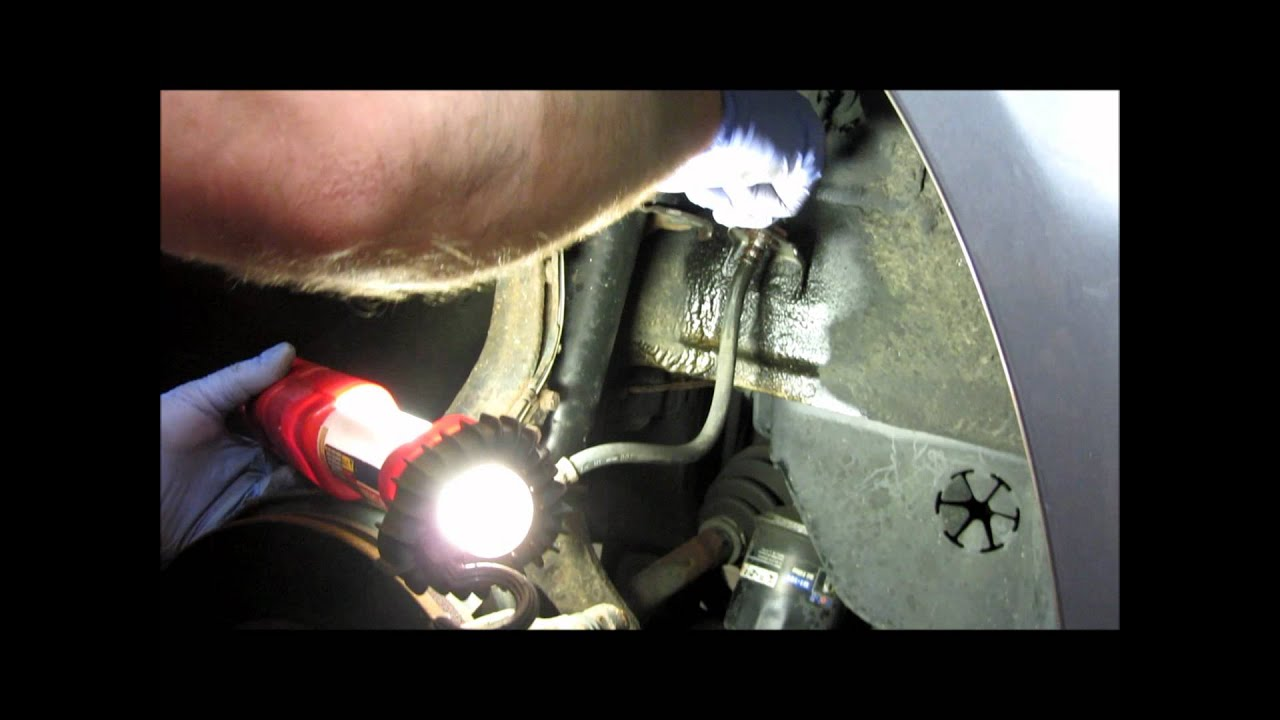 Brake Line Replace Wmv Youtube