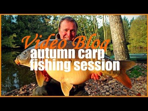 Autumn carp fishing blog   Matt with 2 thirties and an upper 20