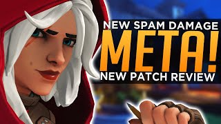 Overwatch: NEW Spam Damage Meta! - BEST & WORST Heroes Patch 1.48 Review
