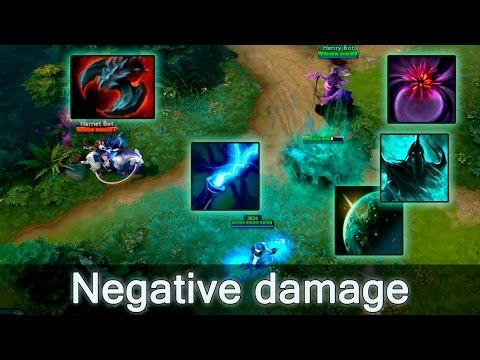 Negative damage — how to kill Abaddon in ulti