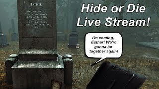 Hide or Die live stream| Finally I can show you this game!