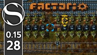 How To Make A Train Outpost | Factorio 0.15 Part 28