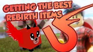 [Roblox] Magnet Simulator: GETTING THE BEST REBIRTH ITEMS (UPDATE 5)