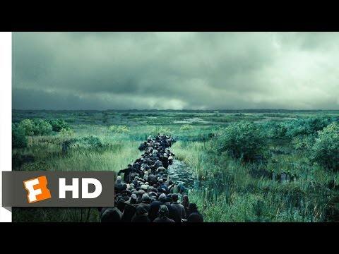 Defiance (7/8) Movie CLIP - Crossing the Marsh (2008) HD