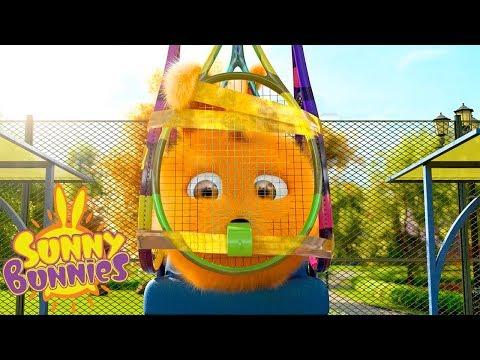 Cartoons for Children | SUNNY BUNNIES - TENNIS TROUBLES | Funny Cartoons For Children