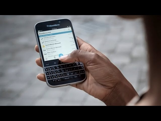 Back to Basics as BlackBerry Releases New Cellphone With Tradition Keyboard