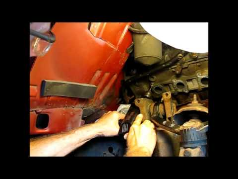 Removing the exhaust manifold from a 5.4L Ford F150 part 3: Drilling out a seized stud.