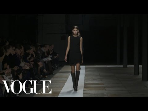 Theyskens  Theory Ready to Wear Fall 2013 Vogue Fashion Week Runway Show