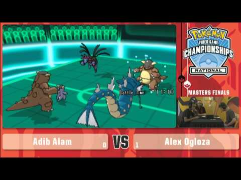 Pokemon 2014 Championship US National Qualifier VG Master Final - Adib Alam vs Alex Ogloza