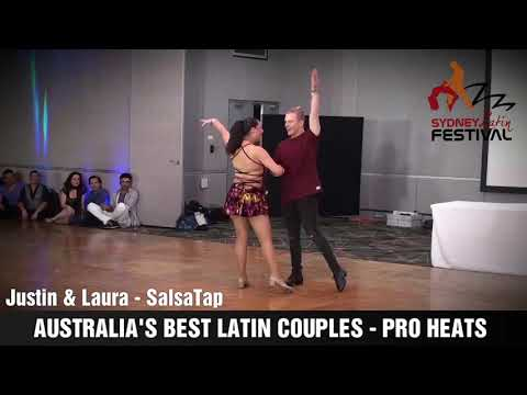 AUSTRALIA'S BEST LATIN COUPLES  - JUSTIN & LAURA