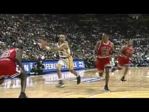Reggie Miller vs. Michael Jordan Rivalry