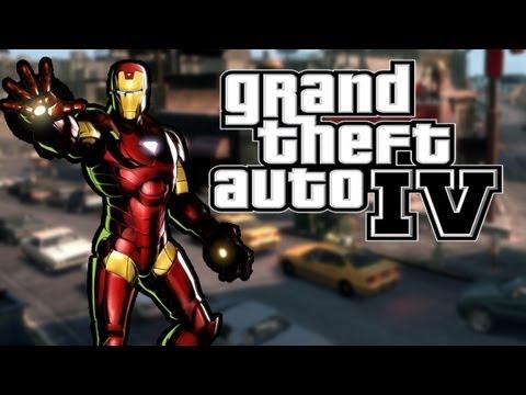 Iron Man VS The Zombie Apocalypse (GTA IV Mod)