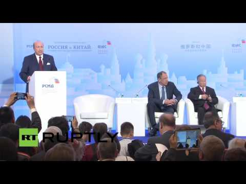 LIVE:  Lavrov to participate in Russia-China conference in Moscow