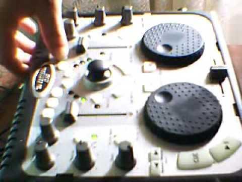 remezclando un poco con la hercules dj control mp3