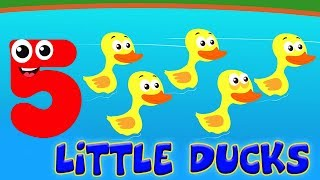 Kids Channel Arabic | خمسة البط قليلا | أغنية تعليمية | Preschool Song | Five Little Ducks Rhymes